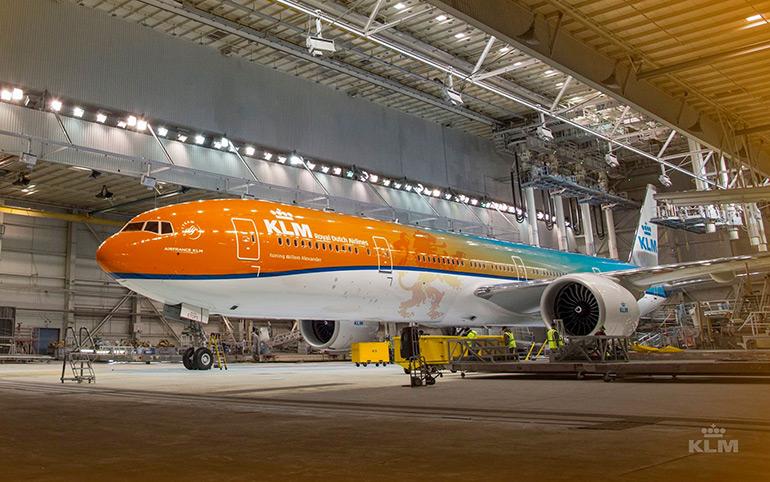 Waarom is KLM blauw en Easyjet oranje