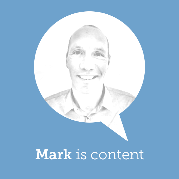 Mark is content