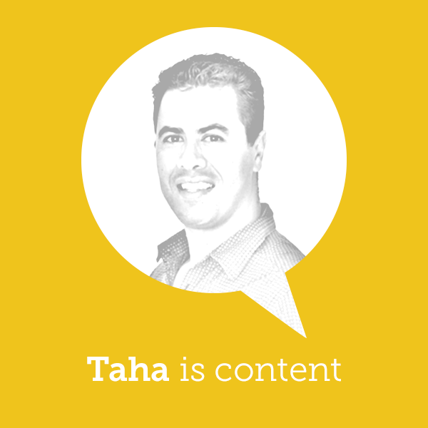 Taha is content