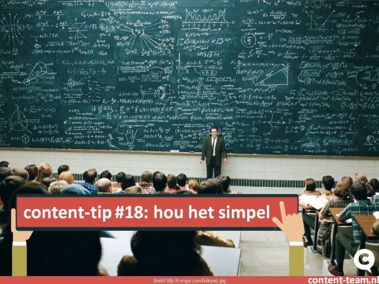 content-tip #18
