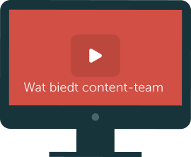 content-team ontzorgt